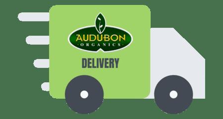 Audubon delivery truck